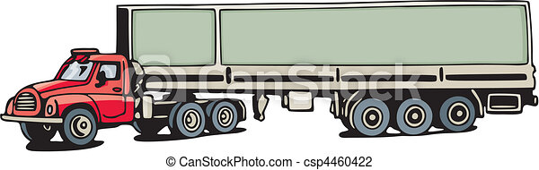Truck - csp4460422