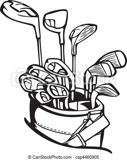 Clipart vectorial de golf csp4460905 - Buscar Clip Art ...