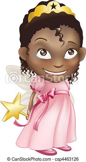 fairy princess girl - csp4463126