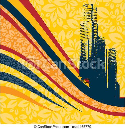 urban art - csp4465770