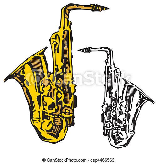 Music Instruments - csp4466563