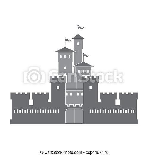Historical homes - csp4467478