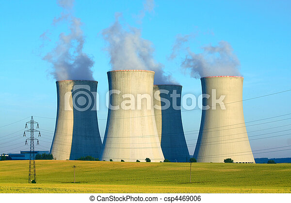 nuclear power plant - csp4469006