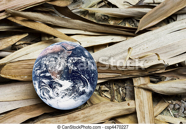 Dying Planet Earth - csp4470227