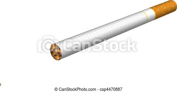 cigarette illustration - csp4470887