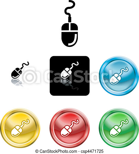 Computer Mouse Icon Symbol - csp4471725