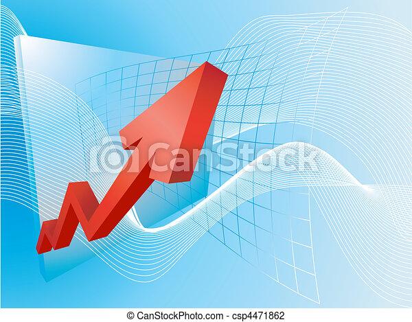 business profits concept illustration - csp4471862