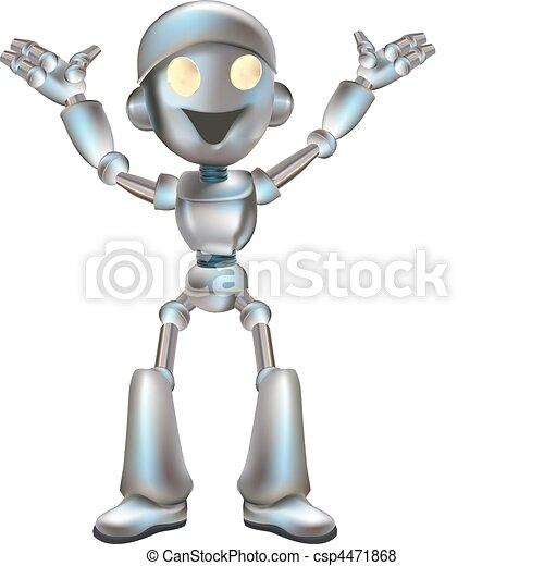 cute robot illustration - csp4471868