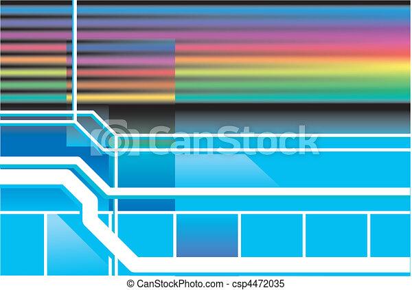 Retro neon 80s background  - csp4472035