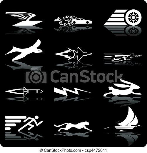 speed icons - csp4472041