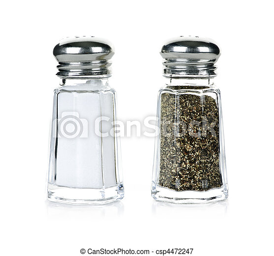 Salt and pepper shakers - csp4472247