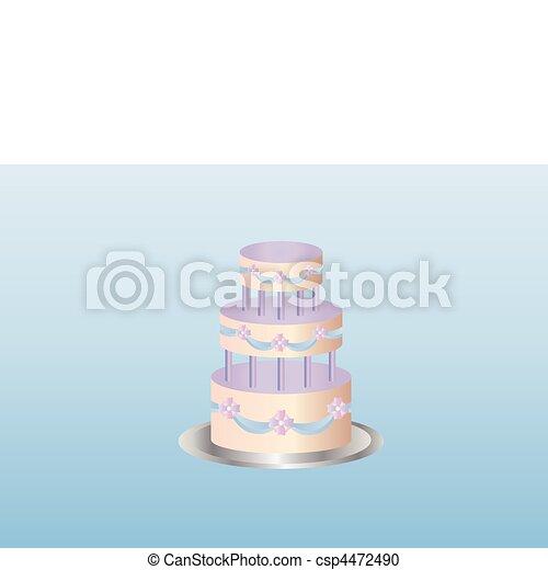 delicious cake - csp4472490