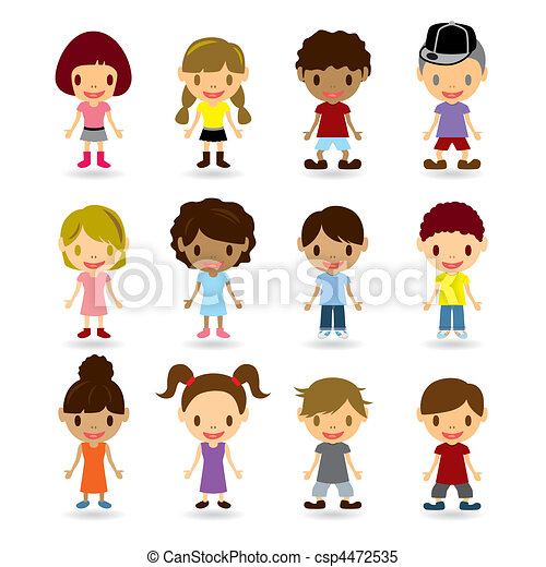 Kids Models Set - csp4472535