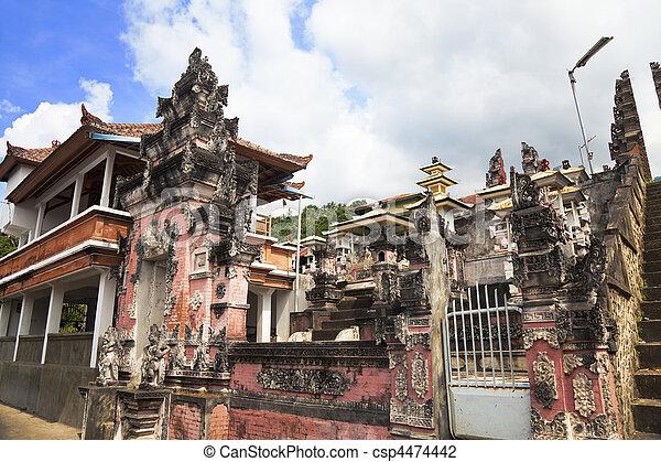 Pura Pasar Agung, Bali, Indonesia - csp4474442