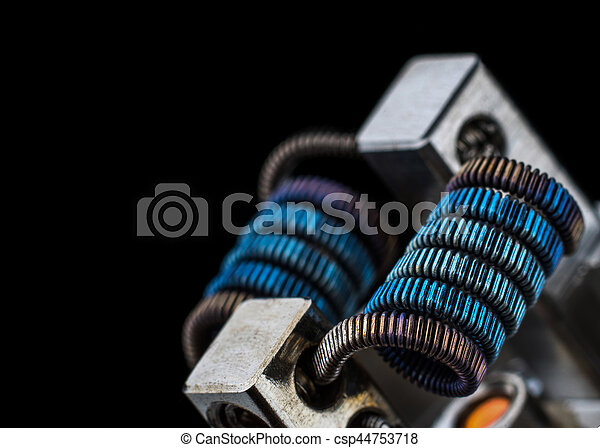 Multistrand Ribbon Fused Clapton on a dripper gold - csp44753718