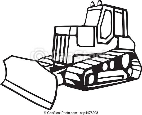 Earth Moving Vehicles - csp4476398