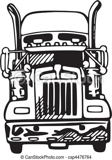 Truck - csp4476764