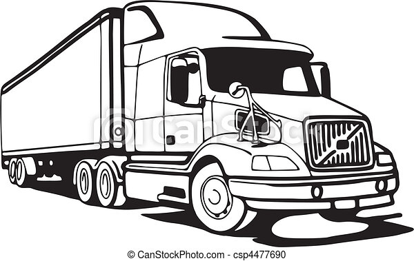 Truck - csp4477690
