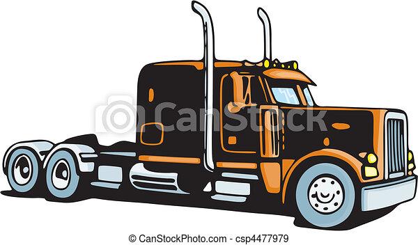 Truck - csp4477979