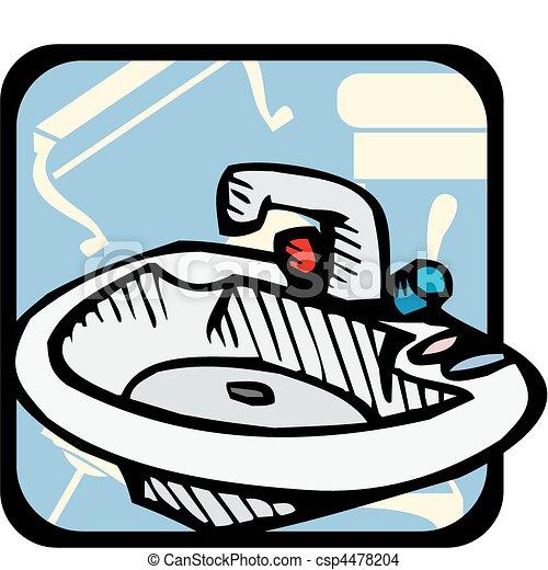 Bathroom - csp4478204
