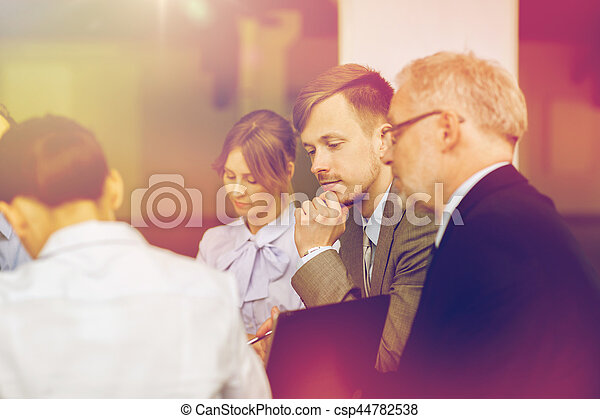 business people meeting in office - csp44782538