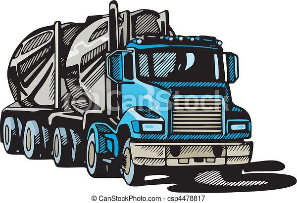 Truck - csp4478817