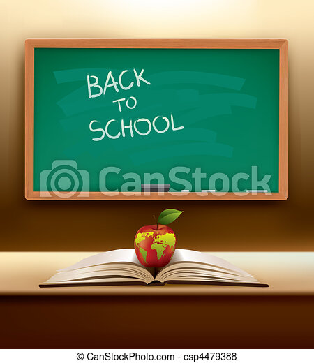 vector back to school concept - csp4479388