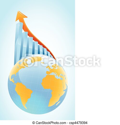 Globl business growth concept - csp4479394