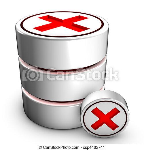 Database deletion - csp4482741