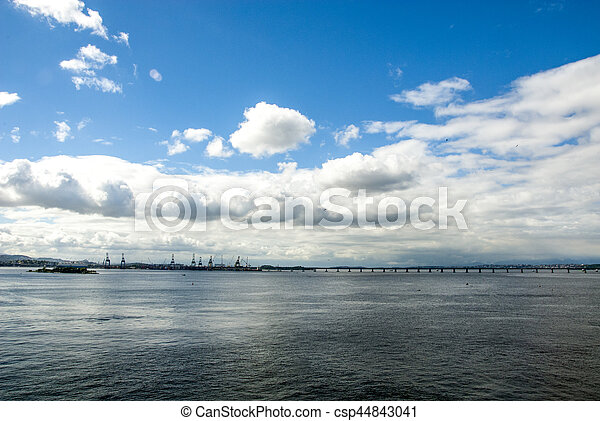 Brazil - Rio de Janeiro - Sail away - csp44843041