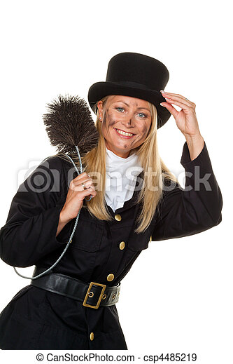 Chimney sweep. Lucky New Year's Eve, New Year - csp4485219