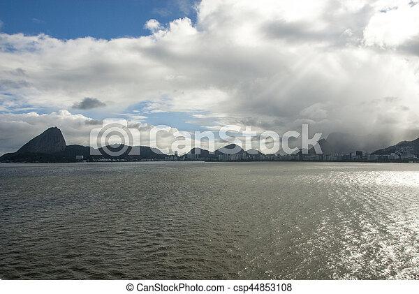 Brazil - Rio de Janeiro - Sail away - csp44853108
