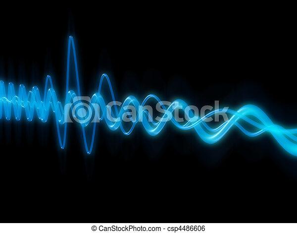 sound wave  - csp4486606
