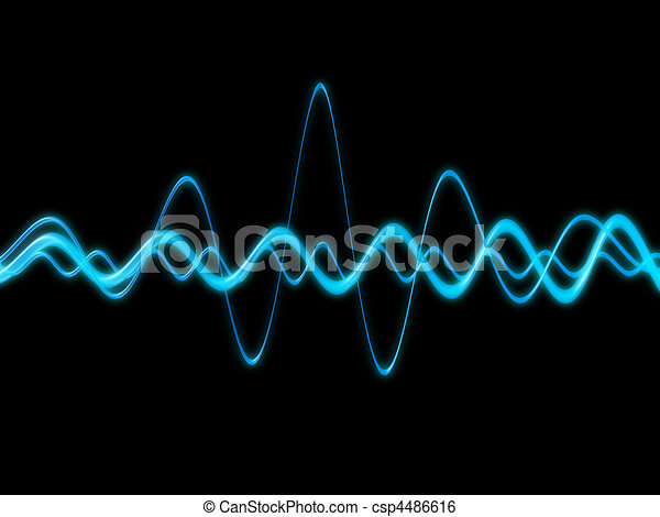 sound wave  - csp4486616