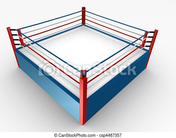 Floor Of A Boxing Ring