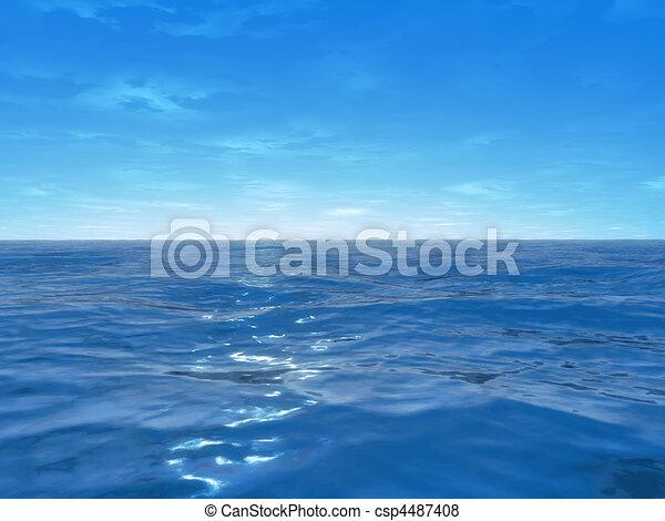 wide ocean  - csp4487408