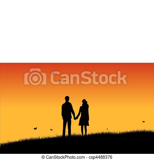 Loving couple - csp4488376