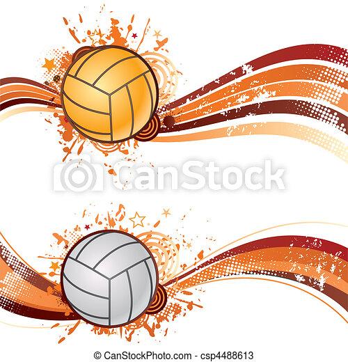 volleyball sport - csp4488613