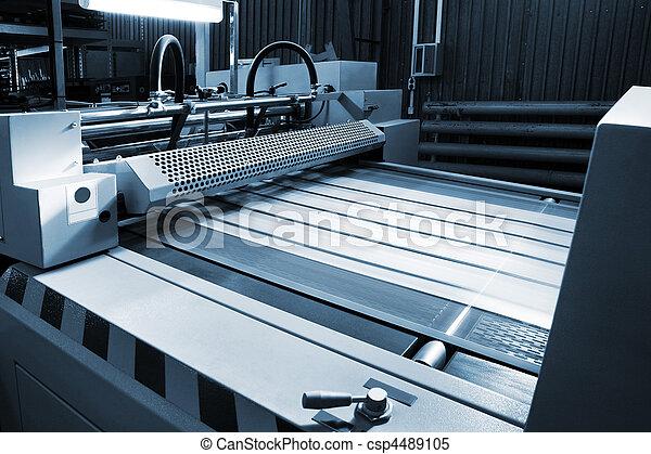 printing house - csp4489105