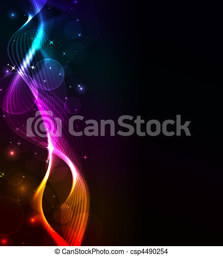 abstract wave, eps10 format - csp4490254