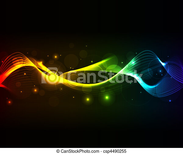 glowing abstract background - csp4490255