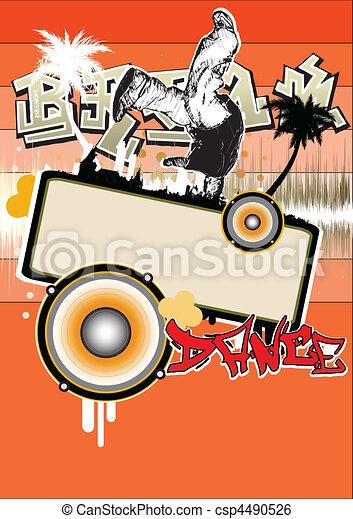 break dance - csp4490526