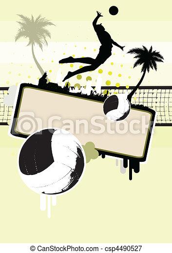 beach volleyball - csp4490527