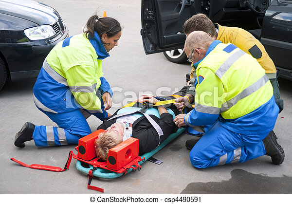 Emergency medical services - csp4490591