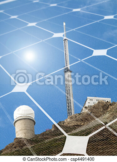 Solar energy concept - csp4491400