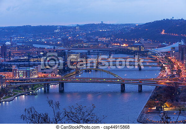 Pittsburgh, City of Bridges - csp44915868