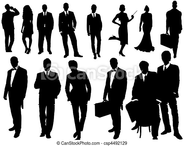 business people  - csp4492129