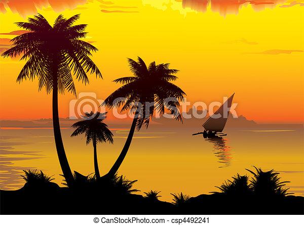 Sunrise. - csp4492241