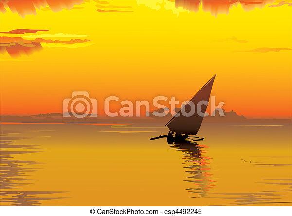 Sunset. - csp4492245