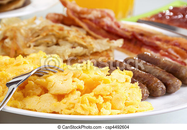 Hearty Breakfast - csp4492604